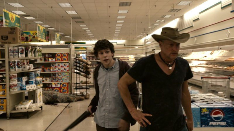 Tide and Pepsi in Zombieland (2009) Movie Product Placement