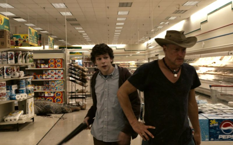 Tide and Pepsi in Zombieland