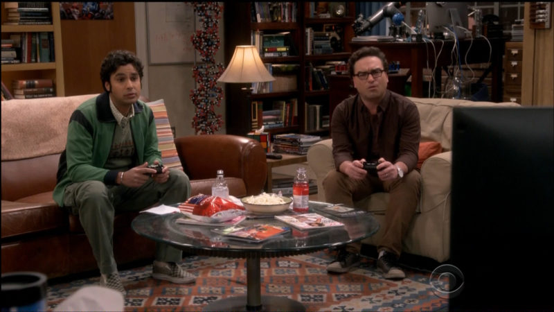Tim's Cascade, Vitamin Water & Icelandic Glacial in The Big Bang Theory TV Show Product Placement