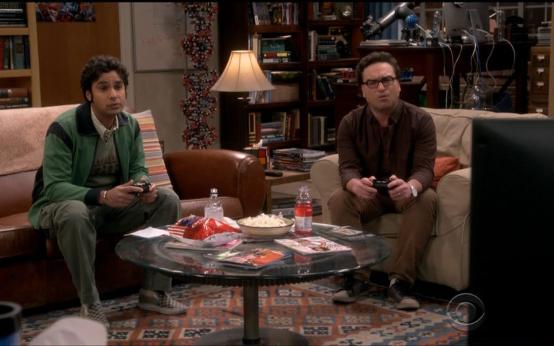 Tim's Cascade, Vitamin Water & Icelandic Glacial in The Big Bang Theory