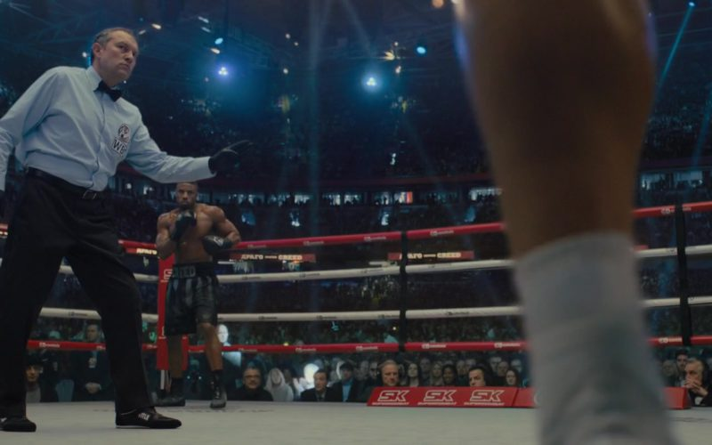 Title Boxing Black Shoes Worn by Referee in Creed 2 (1)