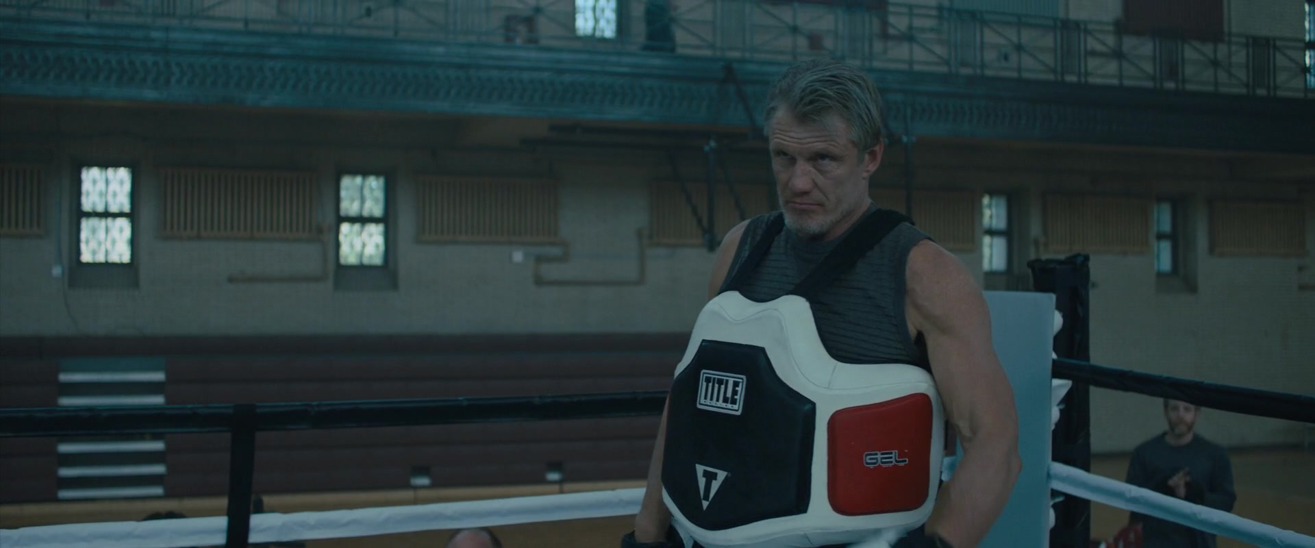 title boxing equipment worn by dolph lundgren in creed 2