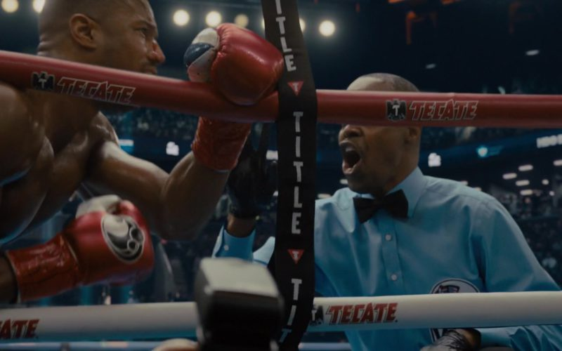 Title Boxing and Tecate in Creed 2