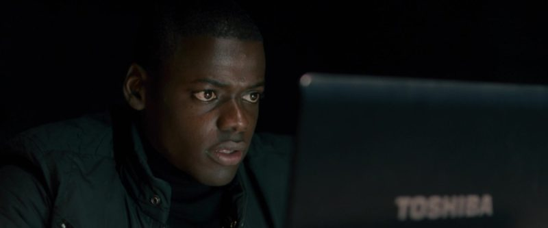 Toshiba Laptop Used by Daniel Kaluuya in Johnny English Reborn (2011) Movie Product Placement
