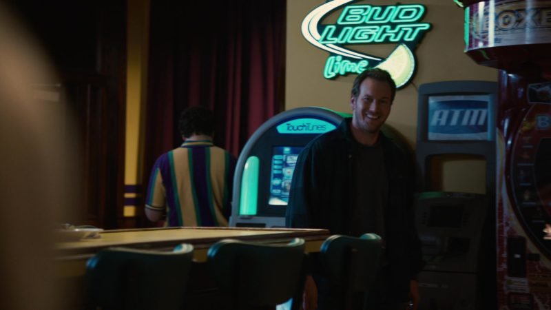 TouchTunes and Bud Light Lime Sign in Young Adult (2011) Movie Product Placement