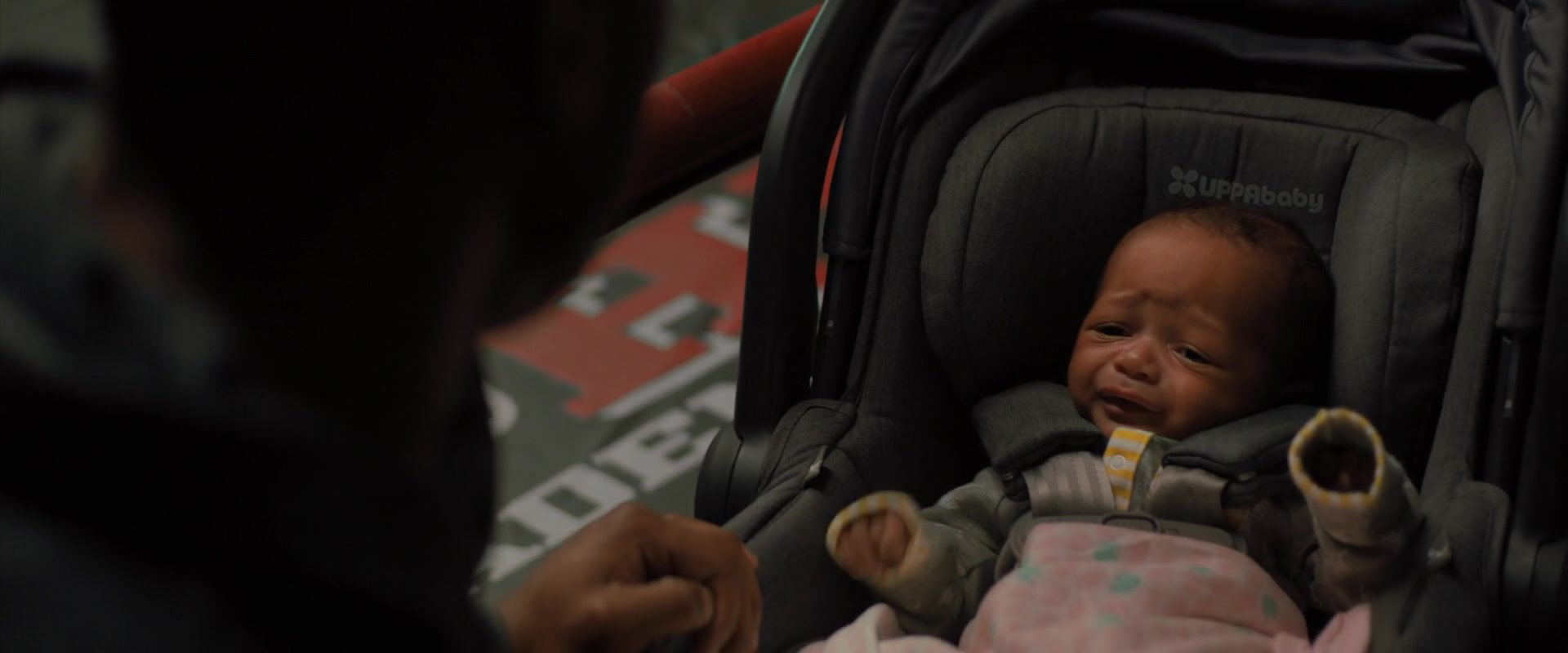 Uppababy Baby Car Seat In Creed 2 2018 Movie