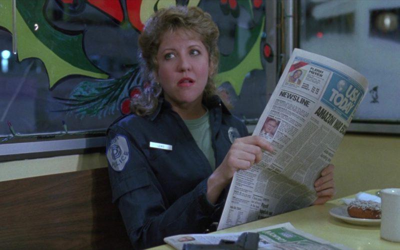 USA Today Newspaper Held by Nancy Allen in RoboCop 3 (3)