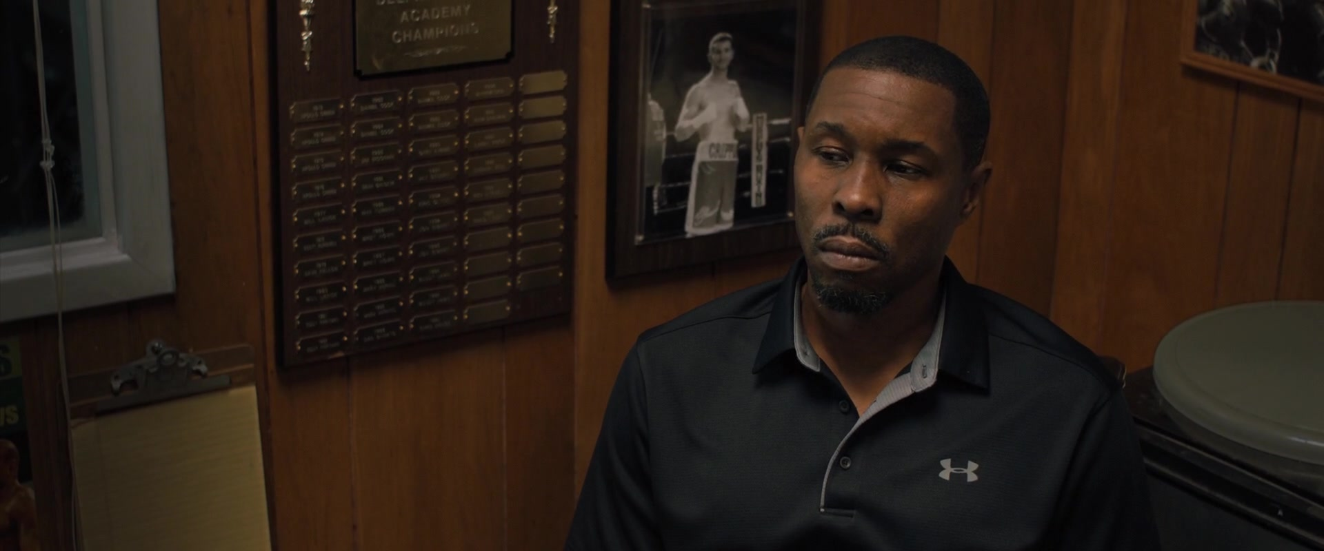 Under Armour Shirt Worn By Wood Harris In Creed 2 2018 Movie