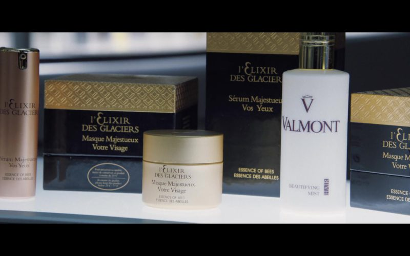 Valmont Beautifying Mist Hair & L'Elixir des Glaciers Cosmetics in Second Act
