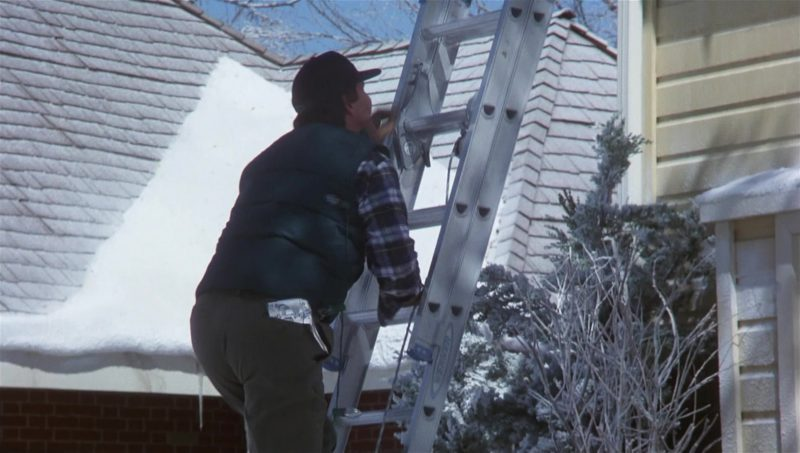 Werner Attic Ladder Used by Chevy Chase in National Lampoon's Vacation (1983) - Movie Product Placement