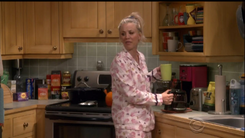 Westrock Coffee (Starring Kaley Cuoco) in The Big Bang Theory TV Show Product Placement