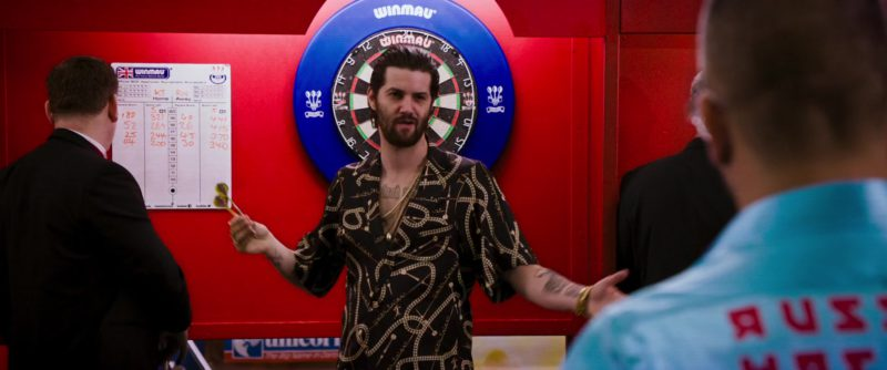 Winmau Dartboards in London Fields (2018) Movie Product Placement