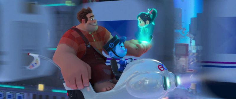 eBay Flying Vehicle in Ralph Breaks the Internet (2018) Animation Movie Product Placement