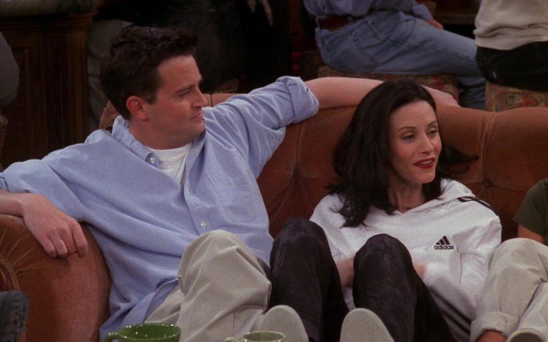 Adidas Hoodie Worn by Courteney Cox (Monica Geller) in Friends Season 5 Episode 20