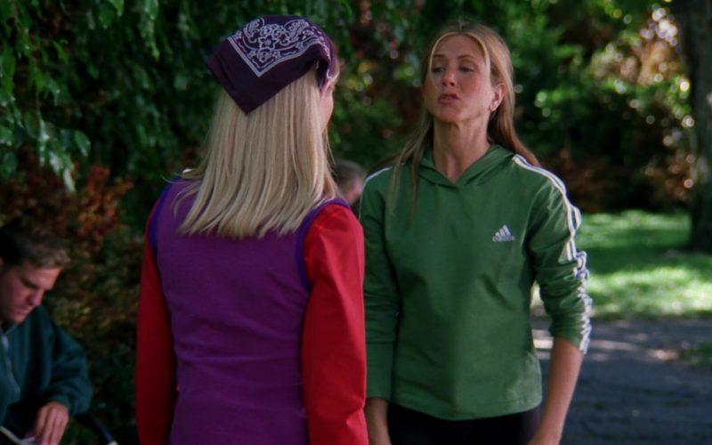 Adidas Hoodie Worn by Jennifer Aniston (Rachel Green) in Friends Season 6 (3)