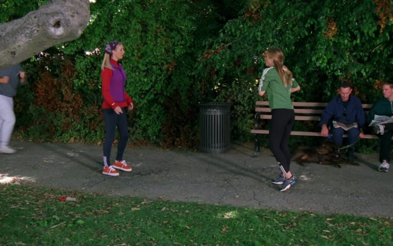 Adidas Leggings Worn by Jennifer Aniston (Rachel Green) in Friends Season 6 Episode 7 (1)