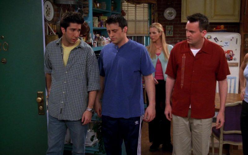 Adidas Pants Worn by Matt LeBlanc (Joey Tribbiani) in Friends Season 5 Episode 21 (6)