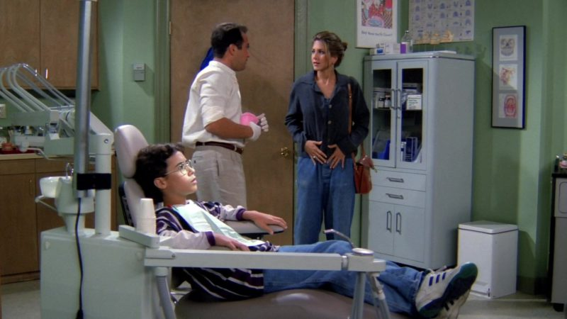 """Adidas Sneakers Worn by Boy in Friends Season 1 Episode 2 """"The One with the Sonogram at the End"""" (1994) TV Show Product Placement"""