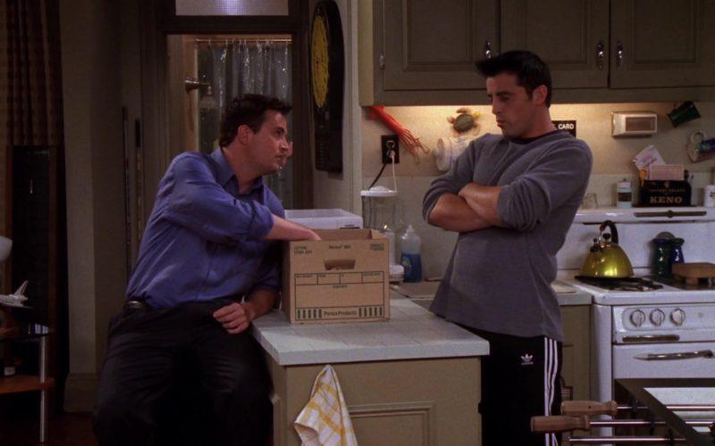 Adidas Track Pants Worn by Matt LeBlanc (Joey Tribbiani) in Friends Season 6 Episode 2 (2)