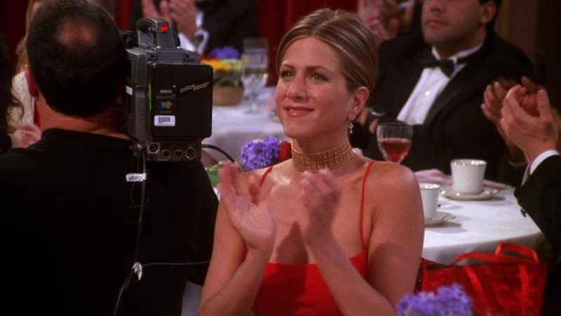 """Anton Bauer Camera Battery in Friends Season 7 Episode 18 """"The One With Joey's Award"""" (2001) - TV Show Product Placement"""