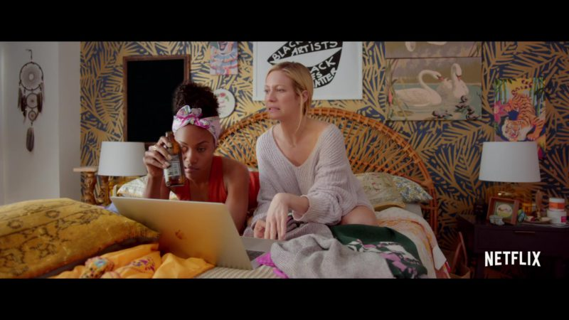 Apple MacBook Laptop Used by Brittany Snow in Someone Great (2019) - Movie Product Placement
