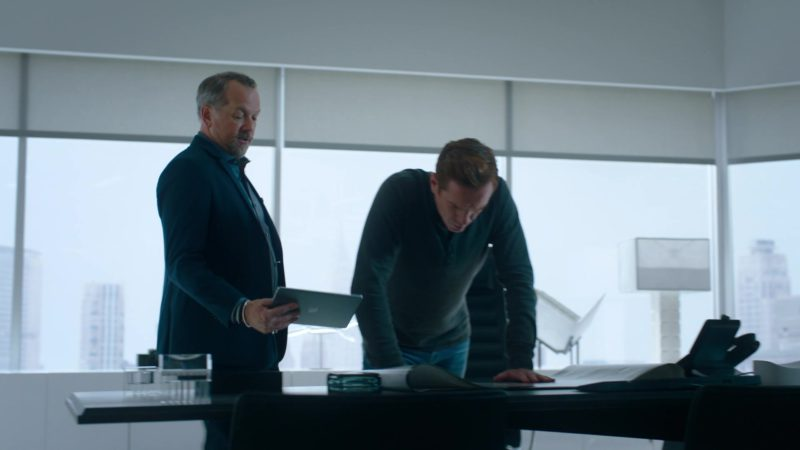 Apple iPad Tablet Held by David Costabile (Mike Wagner) in Billions Season 4 Episode 3, Chickentown (2019) - TV Show Product Placement