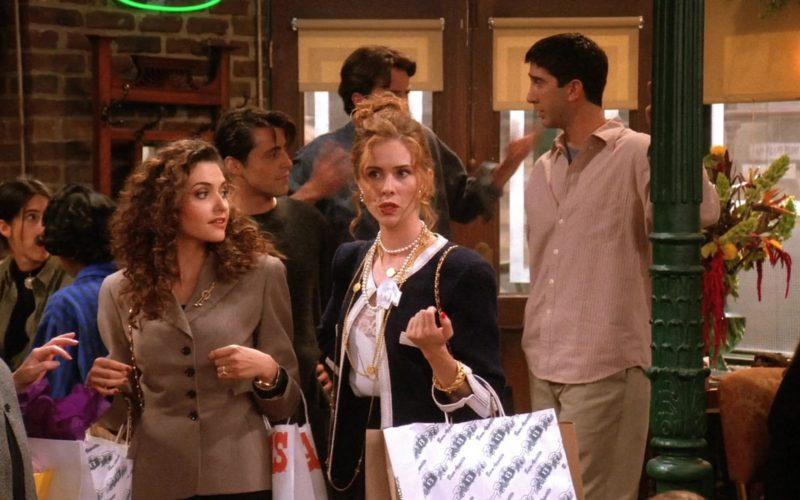 Balducci's Store Paper Bags in Friends Season 1 Episode 4 (1)