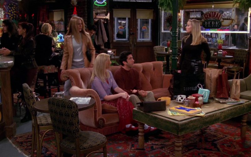 Barneys New York and Bloomingdale's Stores Paper Bags in Friends Season 6 Episode 13