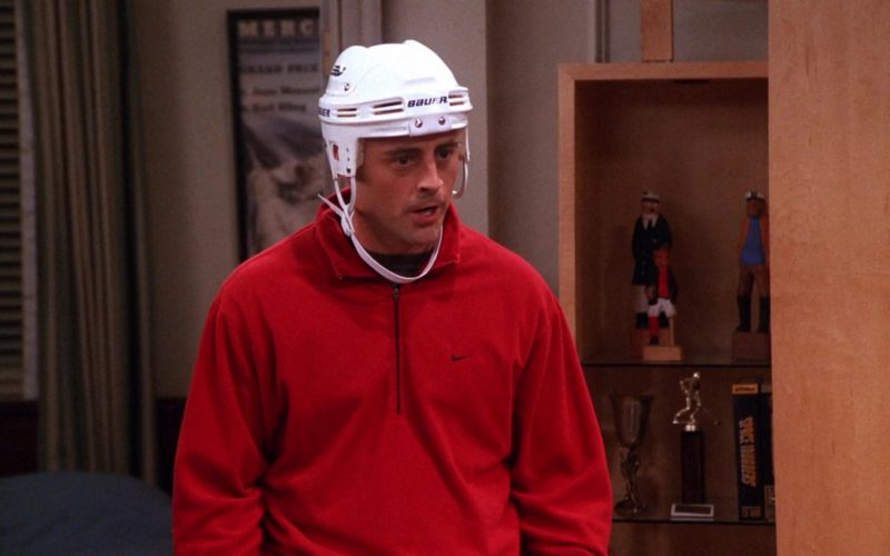Bauer Hockey Helmet and Nike Jacket Worn by Matt LeBlanc (Joey Tribbiani) in Friends Season 7 Episode 2 (3)