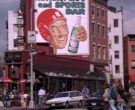 Beck's Beer Billboard and Cinzano Umbrellas in Friends Seaso...
