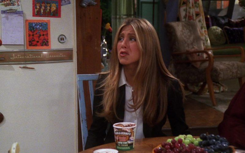 Ben & Jerry's Low Fat Ice Cream in Friends Season 7 Episode 4 (1)