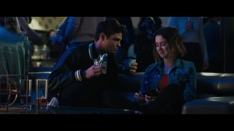 Ben&Jerry's Ice Cream Held by Noah Centineo in The Perfect Date (2019) Movie Product Placement