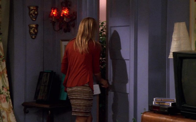 Blockbuster Video VHS Tapes in Friends Season 5 Episode 4 (1)