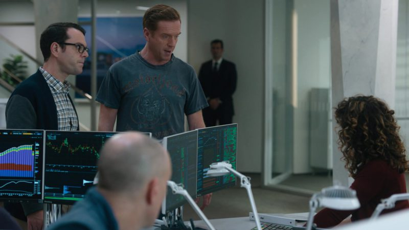 Bloomberg Terminals in Billions Season 4 Episode 1: Chucky Rhoades's Greatest Game (2019) TV Show Product Placement