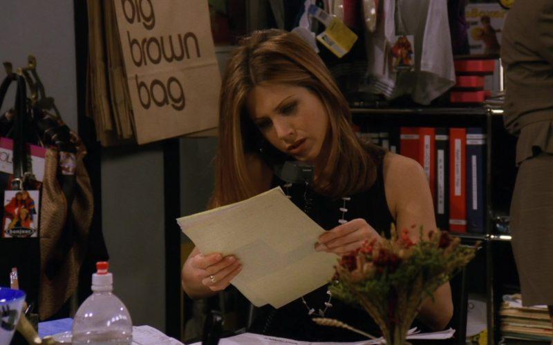 Bloomingdale's Big Brown Bags in Friends Season 3 Episode 15 (1)