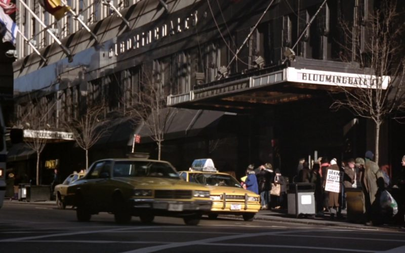 Bloomingdale's Designer Clothing Store in Friends Season 4 Episode 3