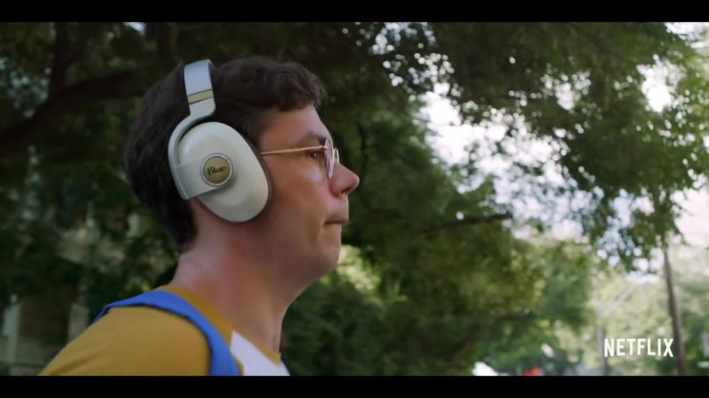 Blue Headphones Used by Ryan O'Connell in Special Season 1 (2019) TV Show Product Placement
