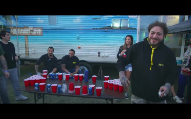 Bud Light Beer Cans in Wow by Post Malone (5)
