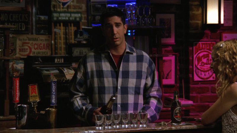 "Budweiser and Bud Light in Friends Season 3 Episode 6 ""The One with the Flashback"" (1996) TV Show Product Placement"