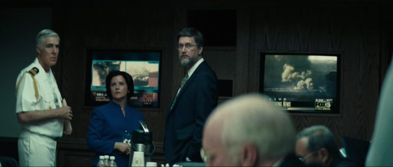 CNN and Fox 5 TV Channels in Vice (2018) Movie Product Placement