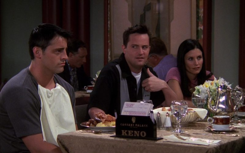 Caesars Palace Las Vegas Hotel & Casino in Friends Season 6 Episode 1 (7)