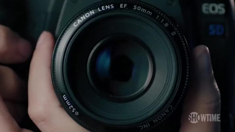 Canon EOS Camera in Billions (Season 4, Showtime, 2019) TV Show Product Placement