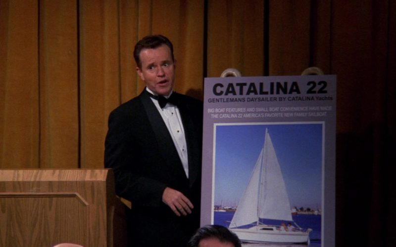Catalina Yacht in Friends Season 6 Episode 24 (1)