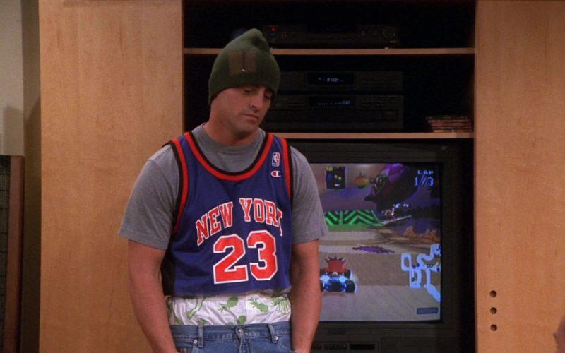 Champion NBA Jersey Worn by Matt LeBlanc (Joey Tribbiani) in Friends Season 7 (5)