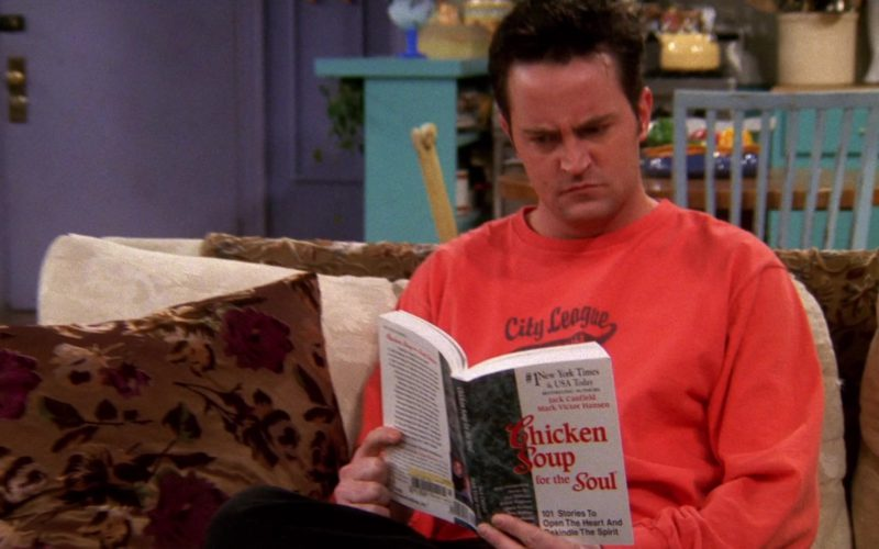 Chicken Soup for The Soul Paperback – 1 May 1999 by Jack Canfield Held by Matthew Perry (2)