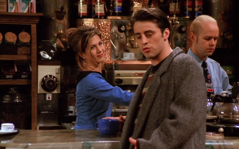 Cimbali Coffee Machine in Friends Season 1 Episode 18