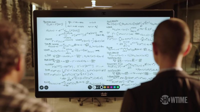 Cisco Monitor in Billions (Season 4, Showtime, 2019) TV Show Product Placement