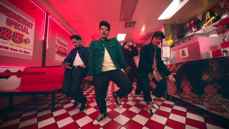 """Converse Shoes Worn by Bruno Mars in """"Please Me"""" (2019) Official Music Video Product Placement"""