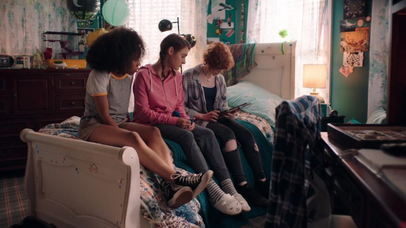 Converse Shoes Worn by Zoe Renee in Nancy Drew and the Hidden Staircase (2019) Movie Product Placement