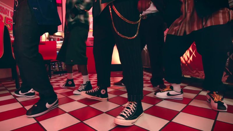 "Converse and Nike Shoes in ""Please Me"" by Cardi B & Bruno Mars (2019) Official Music Video Product Placement"